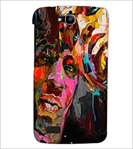 PrintDhaba Graffiti D-4960 Back Case Cover for HUAWEI HONOR HOLLY (Multi-Coloured)