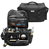Nikon 5874 Deluxe Digital SLR Camera Case - Gadget Bag for DSLR D40, D60, D ....