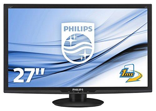 Philips-273E3LHSB00-686-cm-27-Zoll-Monitor-VGA-DVI-HDMI-1920-x-1080-60-Hz-1ms-Reaktionszeit-schwarz