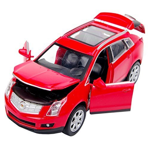 nuoya001-new-132-cadillac-srx-alloy-car-model-collection-4-door-with-lightsound-red-color-by-nuoya