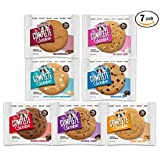 Lenny & Larrys The Complete Cookie Variety Pack - Non GMO, Vegan, Kosher, No Dairy, No Soy - 7 Flavors 1 Of Each