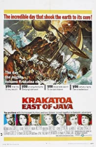 Krakatoa East of Java Poster Movie B 11x17 Maximilian Schell Diane Baker Brian Keith Barbara Werle