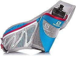 Salomon Sensibelt Bottle Holder Belt (Blue/Mathyl Blue/Lotus Pink)