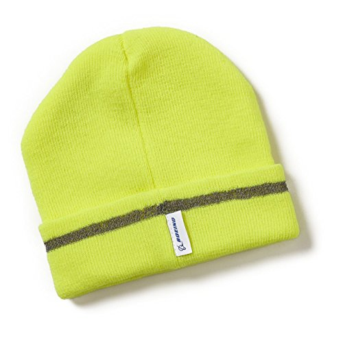 Neon Safety Reflective Beanie (Boeing Cap compare prices)