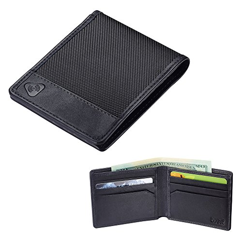 rfid-blocking-wallet-mens-bi-fold-leather-card-security-safe-lewis-n-clark-black