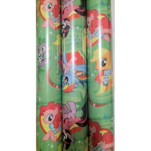 Amazon.com: My Little Pony ~ Christmas Gift Wrap ~ 45 Sq. Feet