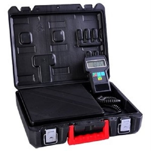 Digital Refrigerant Electronic Charging Scale 220 Lbs with Case (Electronic Refrigerant Scale compare prices)