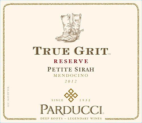 2012 Parducci Signature True Grit Petite Sirah Mendocino County 750 Ml