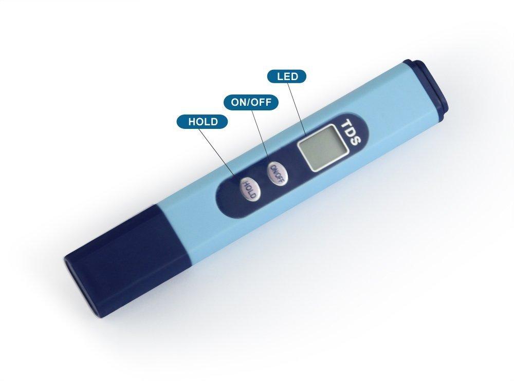 Aquarium Conductivity Meter : Galleon hydroponics aquarium ec conductivity tester