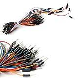 65pcs ワイヤー ブレッドボード プラグ ワイヤ ブレッドボード·ケーブル ブレッドボード タイライン
