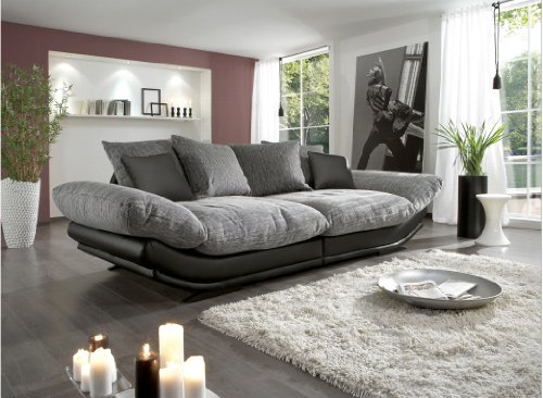 wohnzimmer pc test big sofa rose new look megasofa. Black Bedroom Furniture Sets. Home Design Ideas