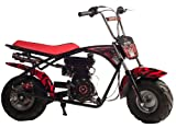 MOTOVOX MBX11 79.5cc 2.5Hp Gas 4 Stroke Powered Mini Bike Motorcycle Minibike