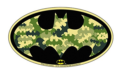 Licenses Products DC Comics Batman Camo Bat Logo Sticker