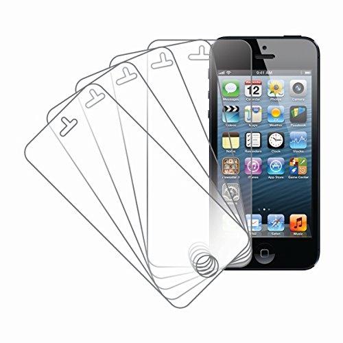 MPERO New Apple iPhone 5 / 5S / 5C 5 Pack of Displayschutz Folie