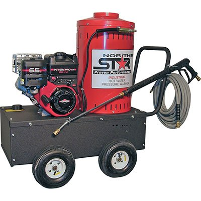 NorthStar Gas-Powered Wet Steam & Hot Water Pressure Washer - 2700 PSI, 2.5 GPM