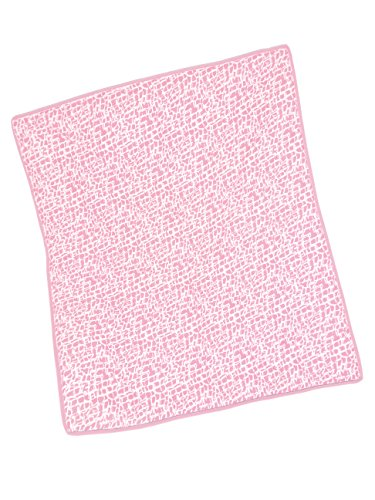 Baby Doll Cobblestone Crib Comforter, Pink - 1