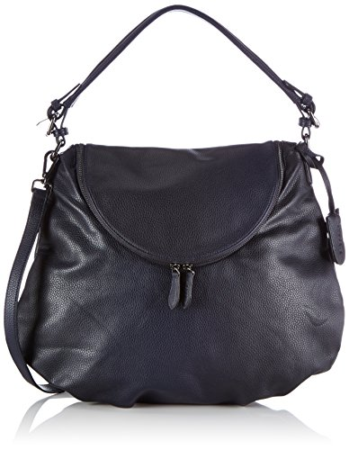 Friis & Company - Faiding Rikke Everyday Bag, Borsa A Tracolla da donna, blu (navy), 8x37x43 cm (B x H x T)