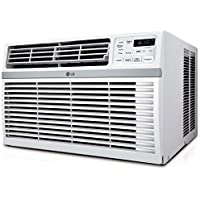 LG LW1216ER 12000 BTU 115V Window-Mounted Air Conditioner with Remote Control - Manufacturer Refurbished