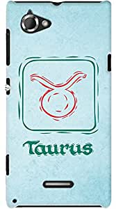 Kasemantra Tough Taurus Case For Sony Xperia L