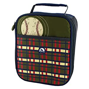 Igloo Insulated Lunch Box Cooler, With Polartherm Insulation, (BASEBALL DESIGN)