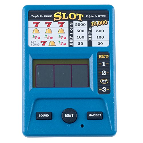 Electronic Handheld Slot Machine Game (Electronic Poker Game compare prices)