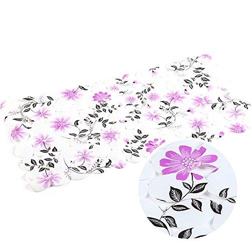Floral bathroom mat/Mat/Foot bath mat/Door mats-L 35x70cm(14x28inch)