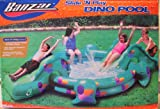 Banzai drinking water Slide:BANZAI KIDS going swimming POOL big DINO go swimming POOL