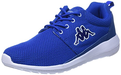 Kappa SPEED II Footwear unisex, Low-Top Sneaker unisex adulto, Blu (Blau (6010 blue/white)), 43