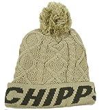 (チップスカンパニー)CHIPPS COMPANY ボンボンフィッシャーニットキャップ F ホワイト