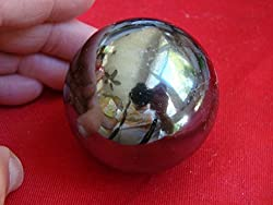 Healing Crystals India: Spectacular X-large Ntatural Hematite Sphere by Healing Crystals India