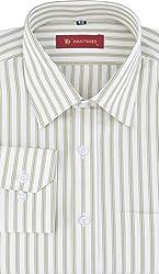 HASTINGS Men's Formal Shirt (V85_40, Light Green, 40)