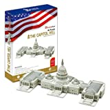 The Capitol Hill - World Great Architecture - 132 Pieces 3D Puzzle - Cubic Fun Series