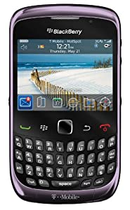 BlackBerry Curve 3G 9300 Phone, Violet (T-Mobile)