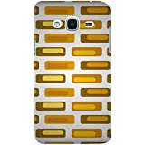 For Samsung Galaxy J2 (6) 2016 J210F :: Samsung Galaxy J2 Pro (2016) Brown Eagle ( Brown Eagle, Eagle, Bird, Colored Texture Background ) Printed Designer Back Case Cover By TAKKLOO
