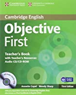 Objective First Teacher's Book with Teacher's Resources Audio  by Capel