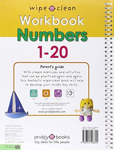 Numbers 1-20 [With Wipe Clean Pen] (Wipe Clean Workbook)