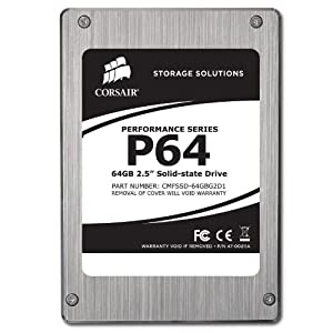 Corsair 64GB SSD Festplatte Lesegeschwindigkeit 220Mbps
