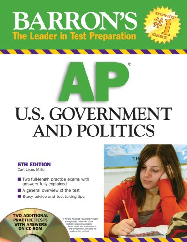 Barron's AP U.S. Government and Politics with CD-ROM