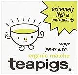 Tea Pigs Organic Matcha Super Power Green Tea, 30g