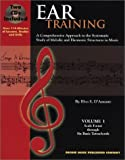 img - for By Elvo S. D'Amante Ear Training: Volume I Scale Forms through Six Basic Tetrachords [Paperback] book / textbook / text book