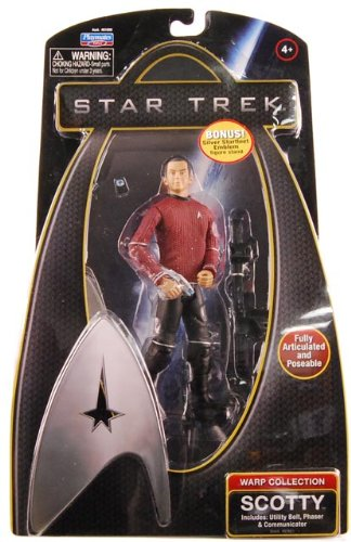 Star Trek 6 inch Action Figure Warp Collection Scotty - 1