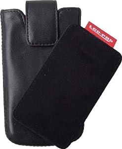 digiETUI Leder phone Samsung - Smartphone Tasche  S5230 Star, S5360 schwarz