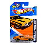Hot Wheels Yellow Black Trim 72 1972 Ford Gran Torino Sport Muscle Mania Ford 2012 7 of 10 117/247