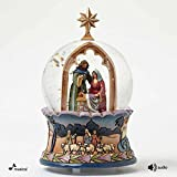 Enesco Jim Shore Nativity Musical Waterball