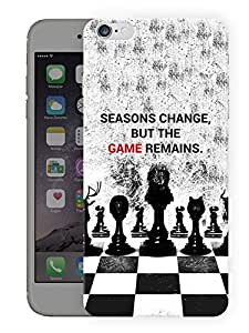 """Humor Gang King War QuotePrinted Designer Mobile Back Cover For """"Apple Iphone 6 PLUS - 6S PLUS"""" (3D, Matte, Premium Quality Snap On Case)..."""