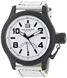 Akribos XXIV Men's AKR407WT Scouter White Quartz Canteen Watch