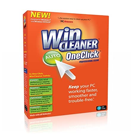 WinCleaner OneClick  Professional Clean: 5 PCs 1 Year (PC)