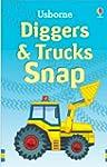 Trucks and Diggers Snap (Usborne Snap...