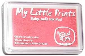 Proudbody My Little Prints babysicheres Stempelkissen, rosa
