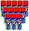 12-PACK Performix PLASTI DIP RED 11OZ Spray CAN Rubber Handle Coating by Plasti Dip